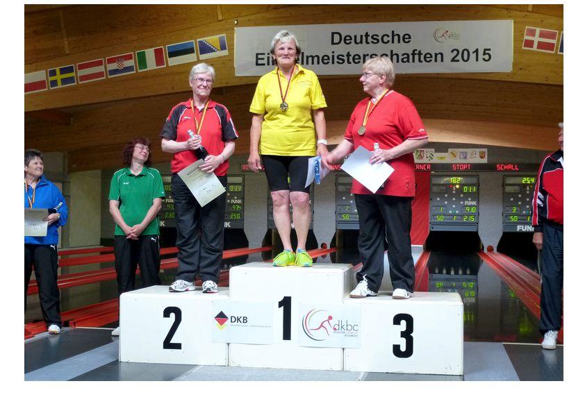 Seniorinnen B Siegerinnen, DM 2015, Öhringen