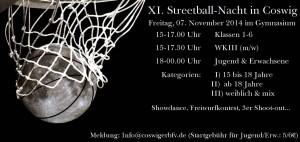 FlyerStreetballnacht2014